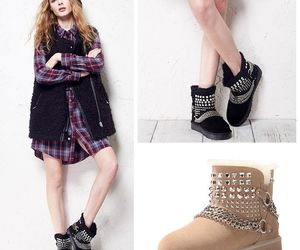 ankle boots, winter, and snow boots image