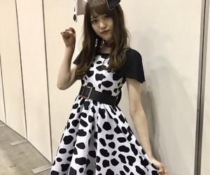 dalmatian, girl, and idol image
