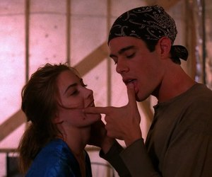 couple, 90s, and Twin Peaks image