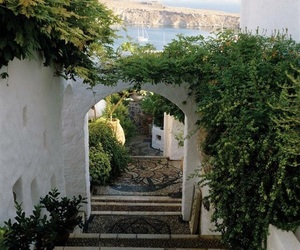 travel, Greece, and view image