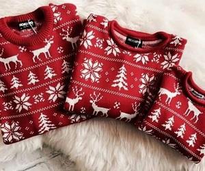 christmas, fashion, and red image