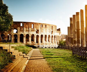 architecture, wanderlust, and colosseum image
