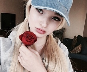 dove cameron, dove, and rose image