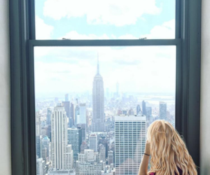 blonde and new york image