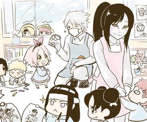 naruto, anime, and chibi image