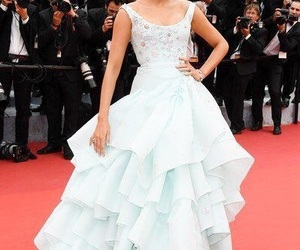 blake lively, princess, and blue gown image