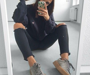 outfit, fashion, and tumblr image