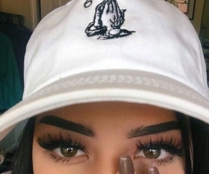 eyes, nails, and makeup image