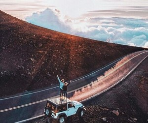 adventure, car, and travel image