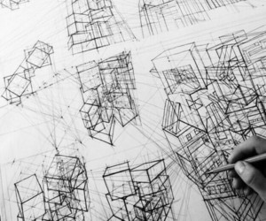 architecture, drawings, and Paper image