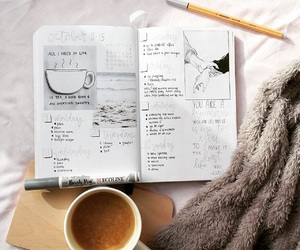 motivation, notebook, and notes image