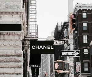 chanel, city, and fashion image