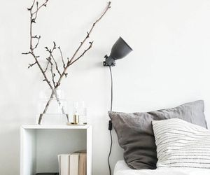 white, bedroom, and book image