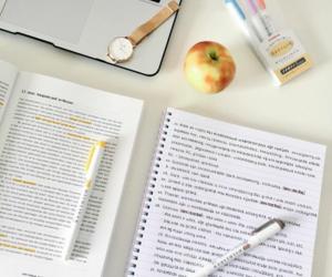school, studying, and university image