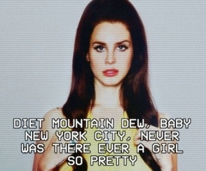 lana del rey, diet mountain dew, and indie image