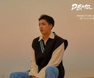 cute guy, pentagon, and kpop swag image