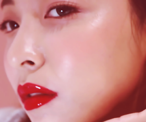 beauty, lips, and red image
