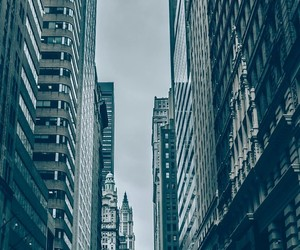 buildings, grey, and city image