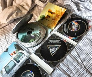 cd, old, and Pink Floyd image
