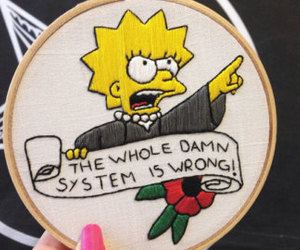 art, embroidery, and feminism image