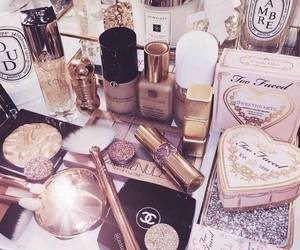 makeup, chanel, and girly image
