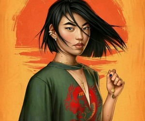 disney, mulan, and fdasuarez image