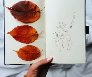 artsy, fall, and inspo image