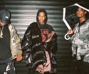 playboi carti and asap rocky image