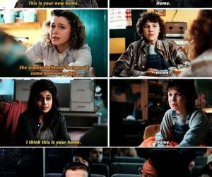 stranger things, eight, and eleven image