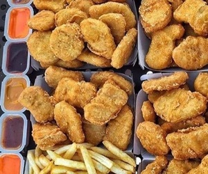 Chicken, food, and heaven image