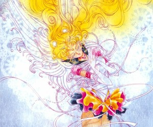 sailor moon, serenity, and usagi image