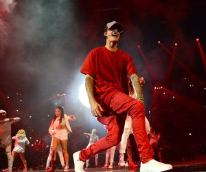idol, red, and justin bieber image