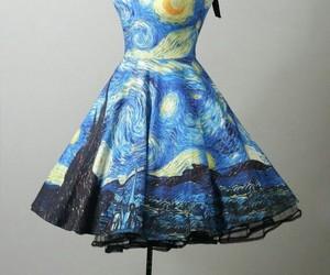 arte, noite estrelada, and dressvangogh image