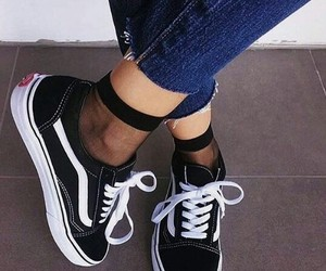 vans, shoes, and style image