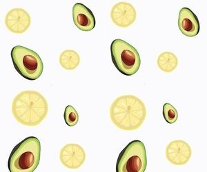 avocado, fresh, and green image