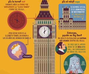 bell, Big Ben, and clock tower image