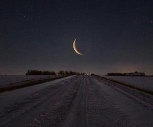 camino, luna, and night image