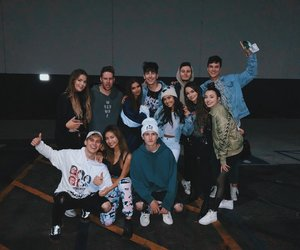 bobby mares, kian lawley, and merrell twins image