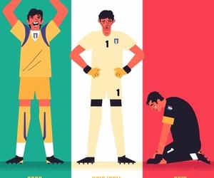 football, futbol, and italia image
