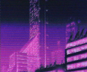gif, aesthetic, and purple image