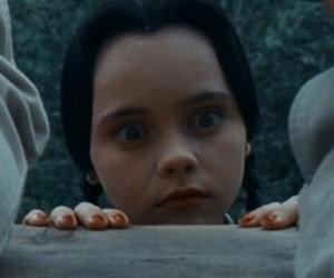 goth, wednesday addams, and addams family image