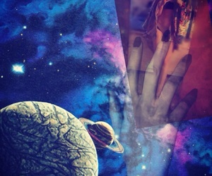 space, tumblr, and heartit image