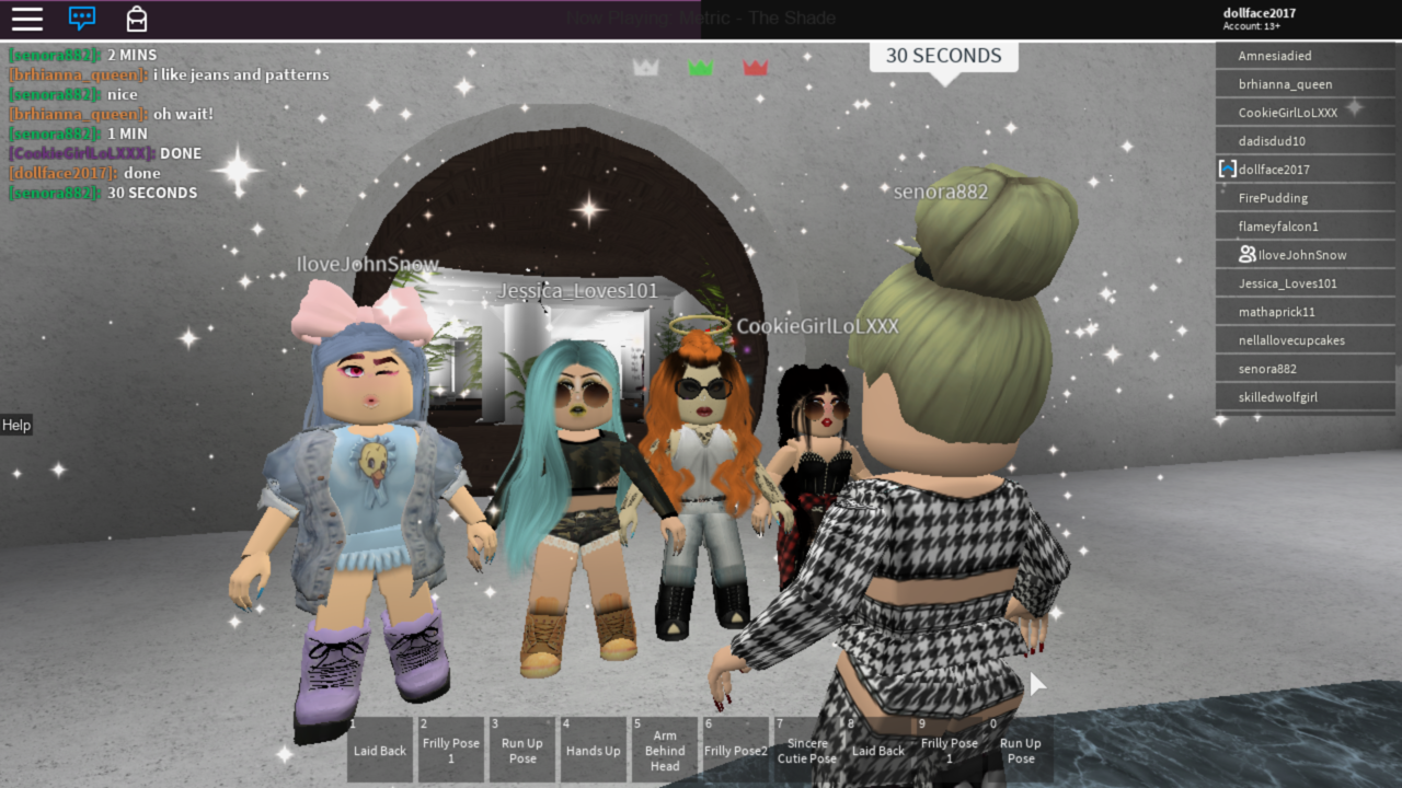 fashion, roblox, and style and lounge image