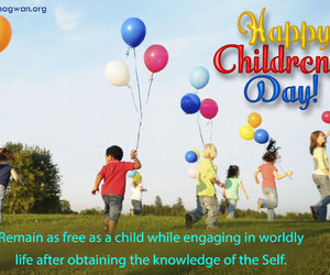 happiness, life quotes, and children's day image