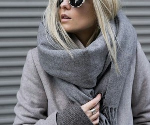 fashion, grey, and winter image