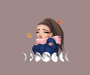 wallpaper, ariana grande, and arimoji image