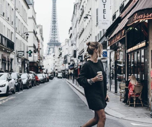 paris, fashion, and travel image