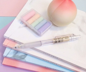 pastel, peach, and aesthetic image