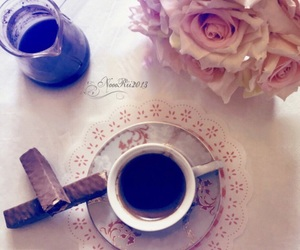 flowers, happy, and turkish coffee image