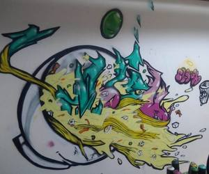 dope, graffiti, and ramen image